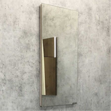 Асти 40 Зеркало, 390x710x20 мм Дуб дымчатый