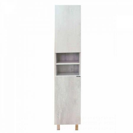 Верона 35-Н Шкаф-колонна 160х35х32 см Дуб белый