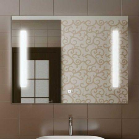 Жасмин 85 Зеркало, светодиодная лента, сенсор 850*650