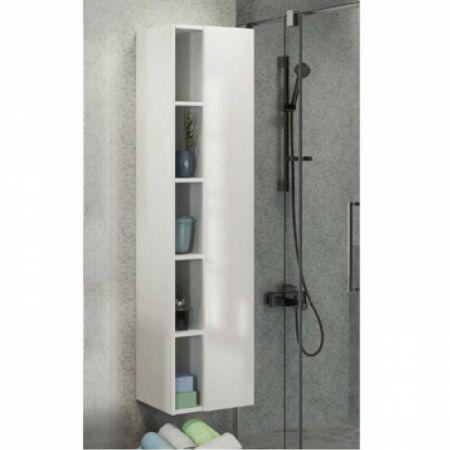 Милан 40 Шкаф-колонна 160х40х32 см Белый