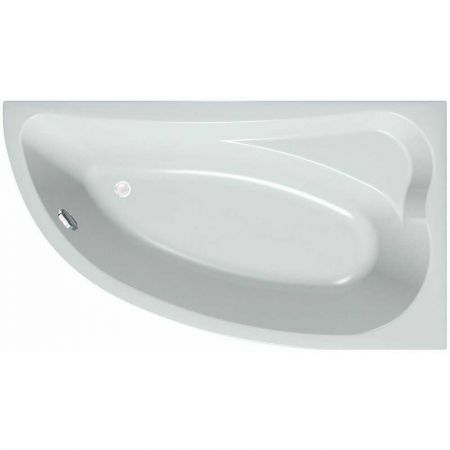 Ванна акриловая CALANDO 160х90 левая + каркас + слив-перелив + фронт.панель