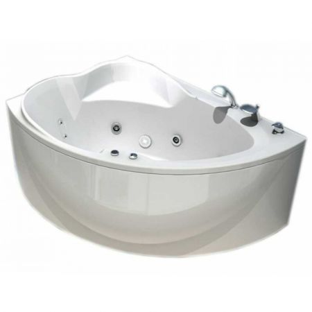Ванна акриловая АЛЬТАИР 160х120 (левая) + фронтальная панель