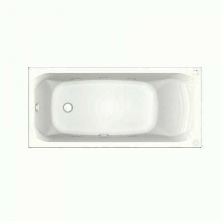 Ванна акриловая АЛЬФА 150х70 + фронтальная панель