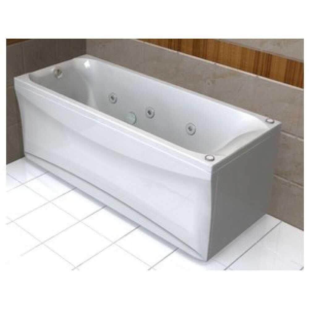 Ванна акриловая АЛЬФА 170х70 + фронтальный экран