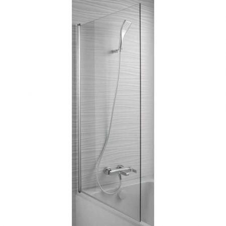 Шторка д/ванны STRUKTURA 140*80 (хром) E6D042-GA