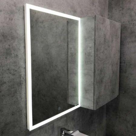 Гиацинт 60 Зеркало, LED-подсветка, сенсор 600*800