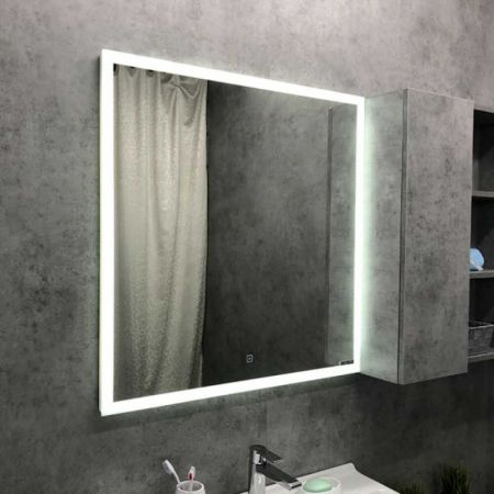 Гиацинт 80 Зеркало, LED-подсветка, сенсор 800*800