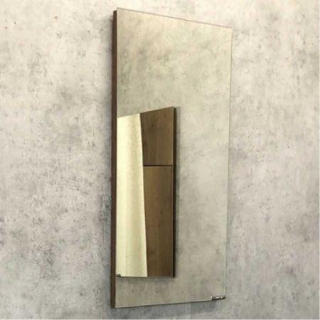 Асти 40 Зеркало, 390x710x20 мм Дуб темно-коричневый