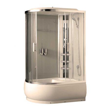 Душевая кабина COMFORTY 184 R прозрачное стекло 120x85x215 правая