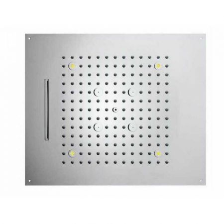 Верхний душ BOSSINI DREAM H38935.030 3 режима, 57х47 см, хром