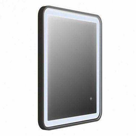 CLOUD Зеркало для ванной с LED-подсветкой 60 см CLO6000i98 (черное)