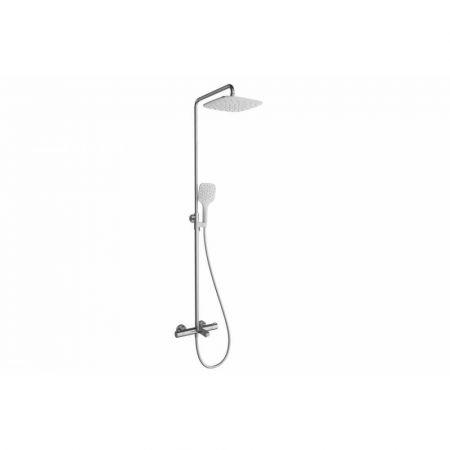 Душевая стойка X070098 с термостатич. смесителем для ванны и ручным душем Termo 300 TE 092.00/150