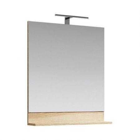 Зеркало + светильник Фостер FOS0207DS 70см (дуб сонома)