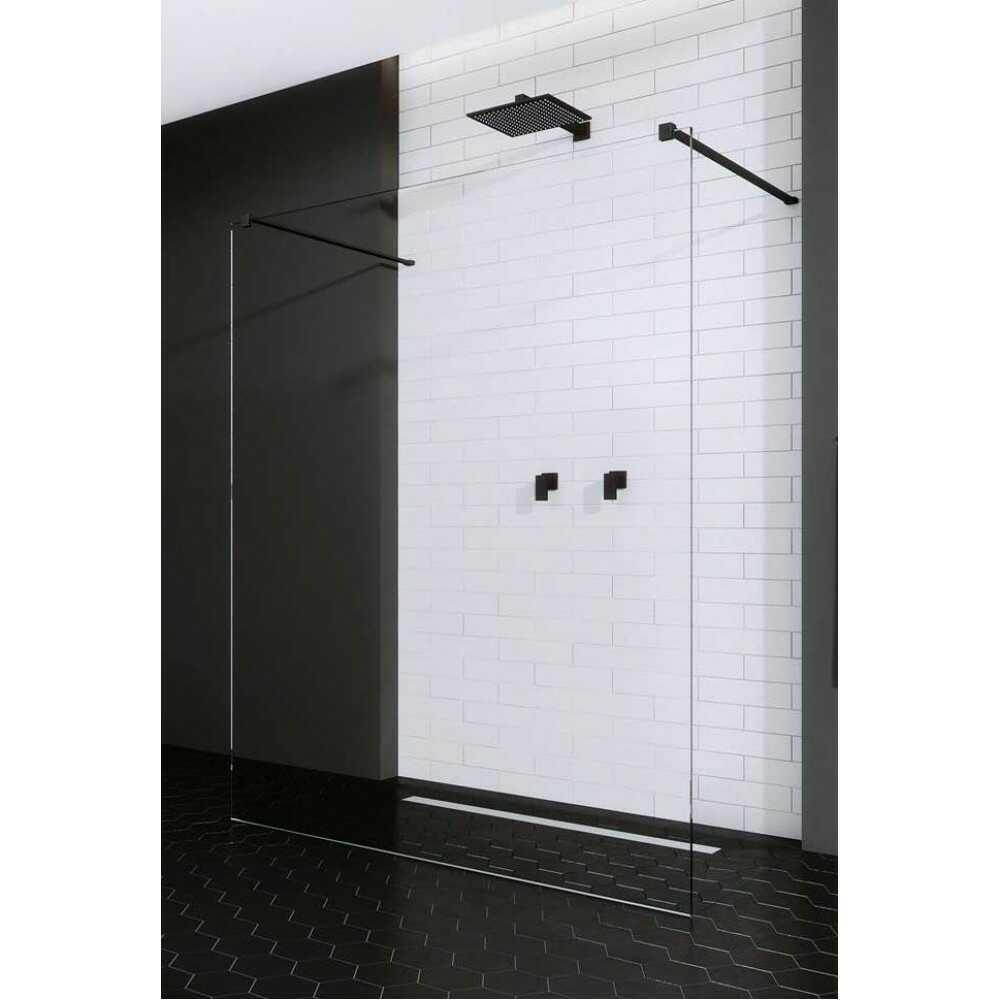 Душевая перегородка Modo X I  Black 120 388324-54-01 (стекло прозр. 10мм)