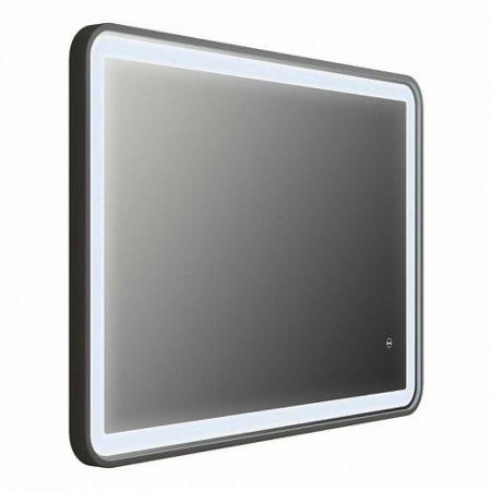 CLOUD Зеркало для ванной с LED-подсветкой 100 см CLO1000i98 (черное)
