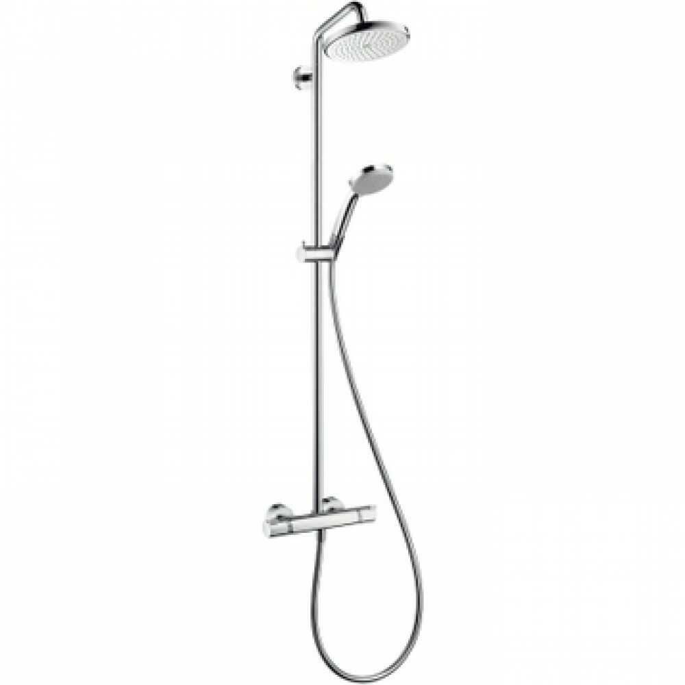 Душевая система HG CROMA 220 Showerpipe д/душа 27185000 АКЦИЯ
