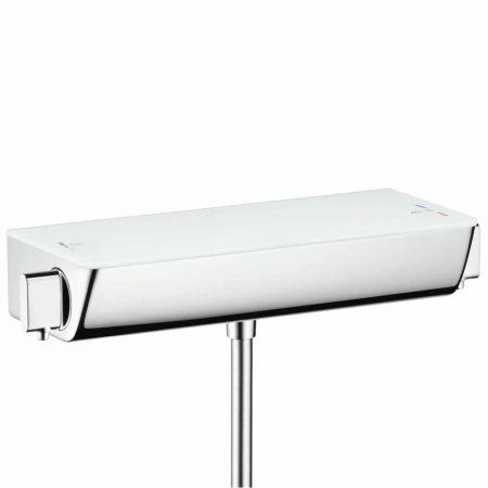 СМЕСИТЕЛЬ HG ECOSTAT Select 13161400  душ, термостат, белый/хром