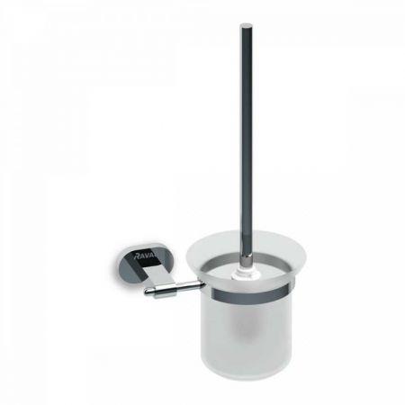 Chrome Держатель для туалетной щетки (стекло) CR 410.00 X07P196