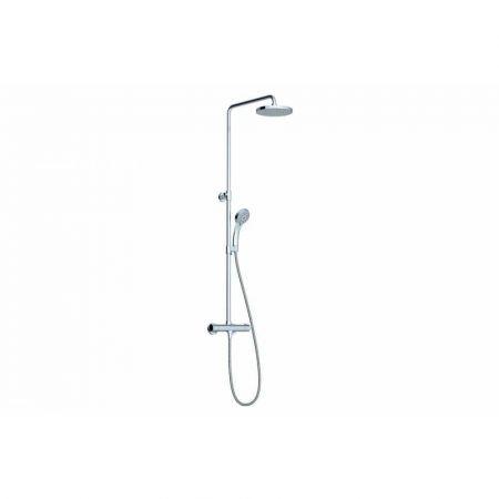 Душевая стойка X070058 с термостатич. смесителем для ванны и ручным душем Termo 100 TE 091.00/150