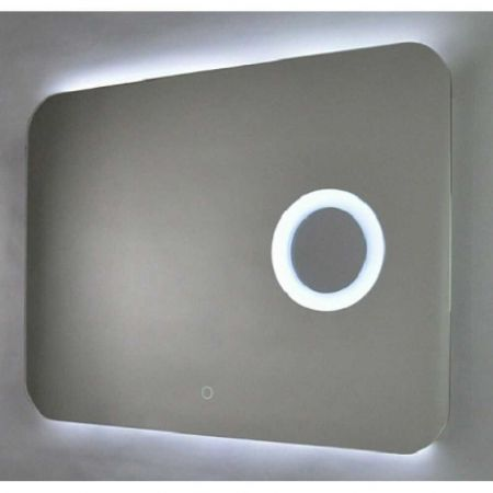 Зеркало Aquanika Cosmo AQC80100RU29 с подсветкой и увеличительным зеркалом 100х80