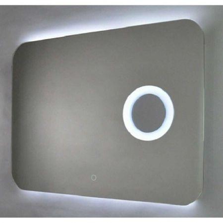 Зеркало Aquanika Cosmo AQC6080RU30 с подсветкой и увеличительным зеркалом 80х60