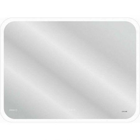 Зеркало LED 070 pro 80х60 KN-LU-LED070*80-p-Os подсветка,сенсор,антипар,часы,Bluetooth