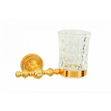 IMPERIALE Стакан для зубных щеток 10404 золото