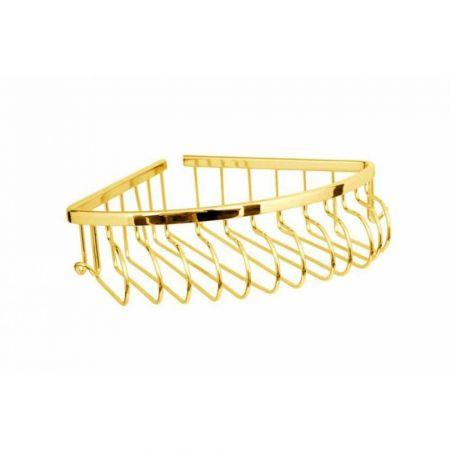 IMPERIALE Угловая полка (металл) 10417 золото