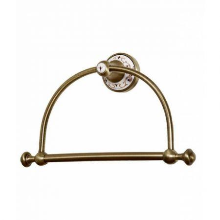 PROVANSE Держатель для полотенец (круглый) 10805 бронза, керамика