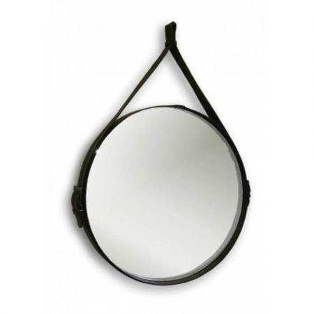 Зеркало Aquanika Country AQC5151RU15 обрамление из кожи 51см