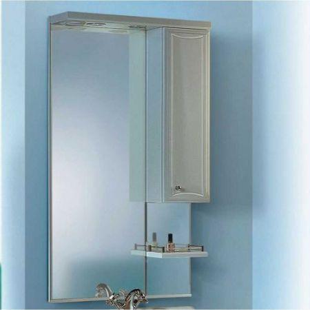 Зеркало Барселона 65 со шкафом и полкой (Л6) Ba.02.06 60см