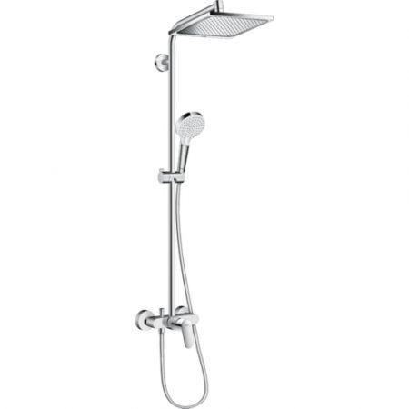 Душевой набор Crometta E 240 Showerpipe д/душа 27284000