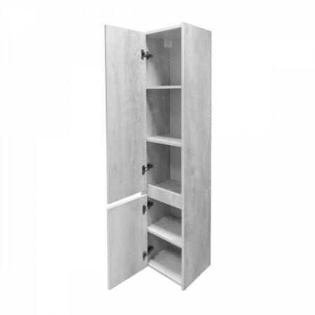 Бремен 35 Шкаф-колонна 1600х350х320 дуб белый