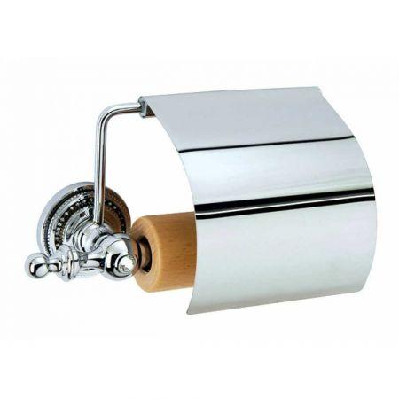 BRILLANTE Держатель для туалетной бумаги с крышкой 10430