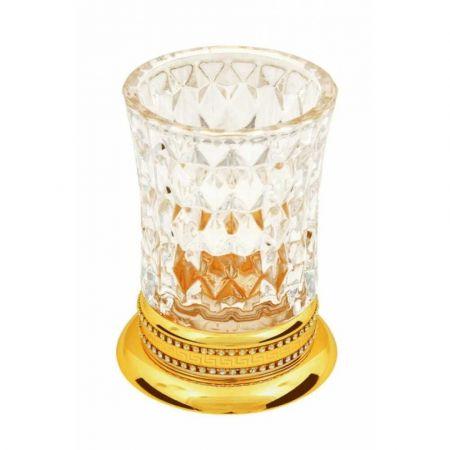 IMPERIALE Настольный стакан для зубных щеток 10412 золото